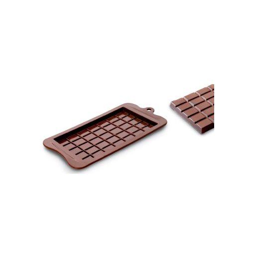 Táblás csokiforma 100% szilikon Ibili 860500