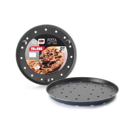 Lyukacsos pizza sütőforma 28cm Ibili 331228