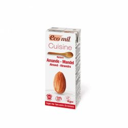 Mandulás tejszín cukormentes BIO 200ml Ecomil