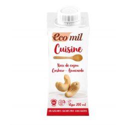 Kesudió tejszín cukormentes BIO 200ml Ecomil