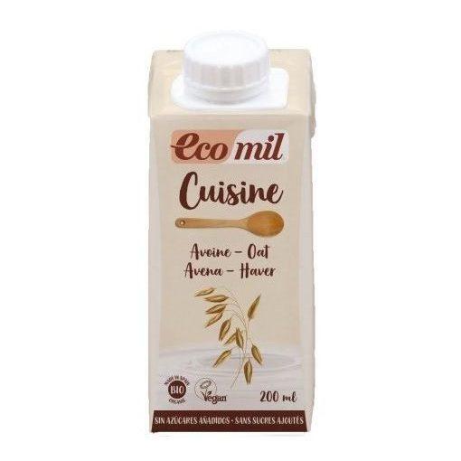 Zab tejszín cukormentes BIO 200ml Ecomil konyhai főzőalap