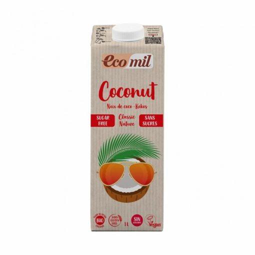 Kókuszital BIO classic 1l Ecomil hozzáadott édesítőszer nélkül