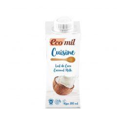 Kókusztejszín BIO 200ml Ecomil