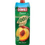 Őszibarack-Alma juice 100% 1l Dimes