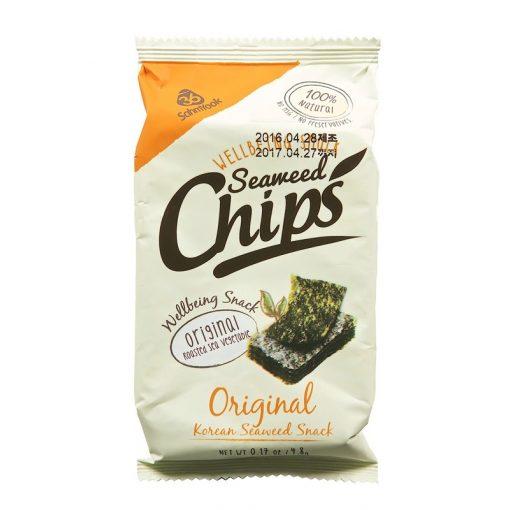 Algachips natúr 4,8g Seaweed Chips