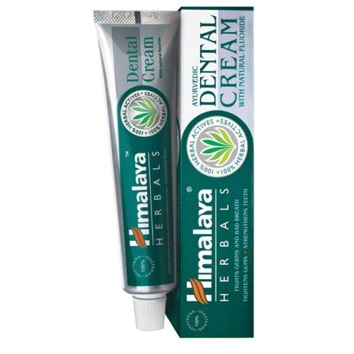 Ajurvédikus fogkrém természetes fluoriddal 100g + AJÁNDÉK 50g Himalaya