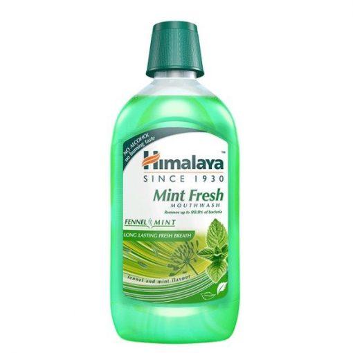 Mint Fresh gyógynövényes szájvíz 450ml frissítő Himalaya