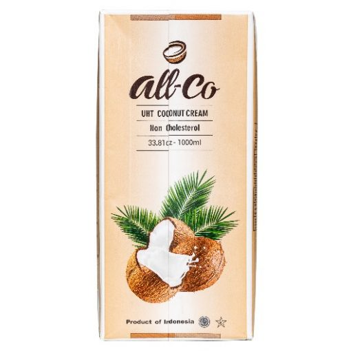Kókusztejszín (kókuszkrém) 1l all-co 24% kókuszolaj tartalommal
