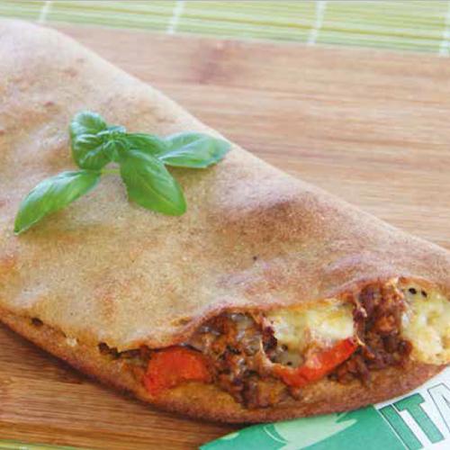 Bolognai pizza calzone