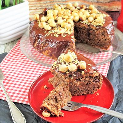 Diós csokis törökmogyorós torta