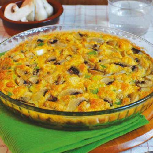 gombás-zöldhagymás-quiche