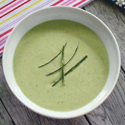 háromperces hideg leves