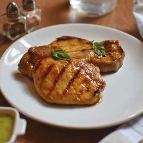lime-os bazsalikomos grill sertéskaraj