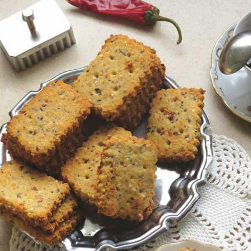 sajtos-csilis magvas keksz