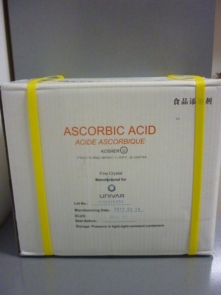 Aszkorbinsav (C-vitamin) 25kg lédig