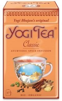Klasszikus tea fémdobozban fahéjjal BIO Yogi