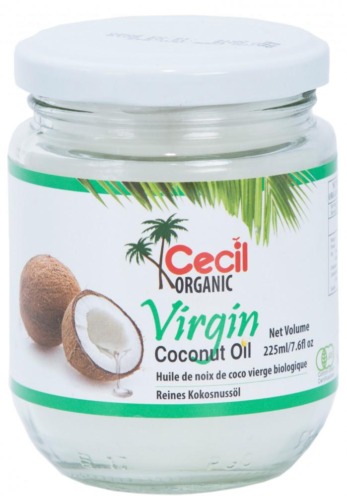 Extra szűz kókuszolaj BIO 225ml Cecil