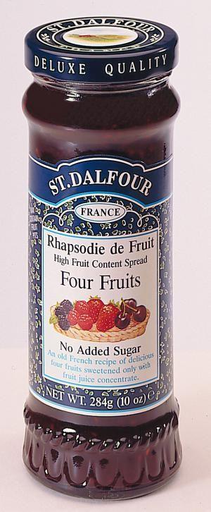 Vegyes gyümölcsdzsem 284g St. Dalfour