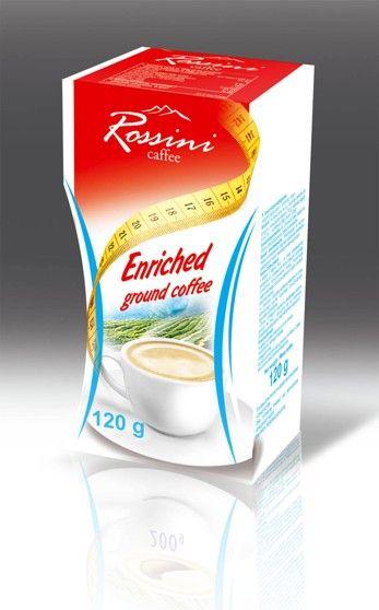 Őrölt, pörkölt kávé 120g Rossini