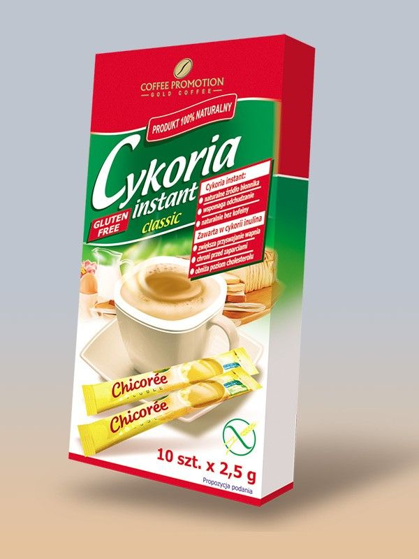Instant cikória kávé 12x2,5g