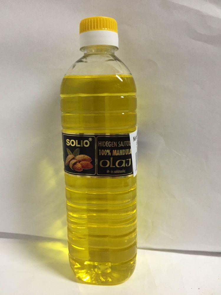 Mandulaolaj 500ml Solio