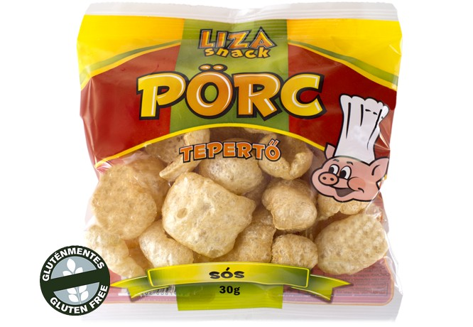 Tepertő pörc sós 30g Liza snack