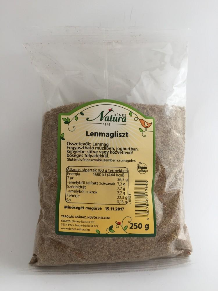 Lenmagliszt 250g Natura