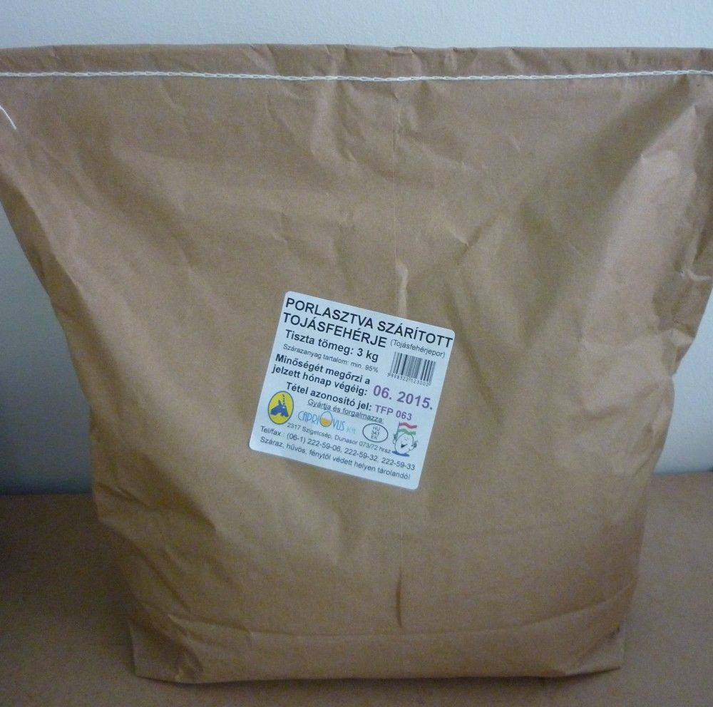 Tojásfehérje por 3kg Capriovus