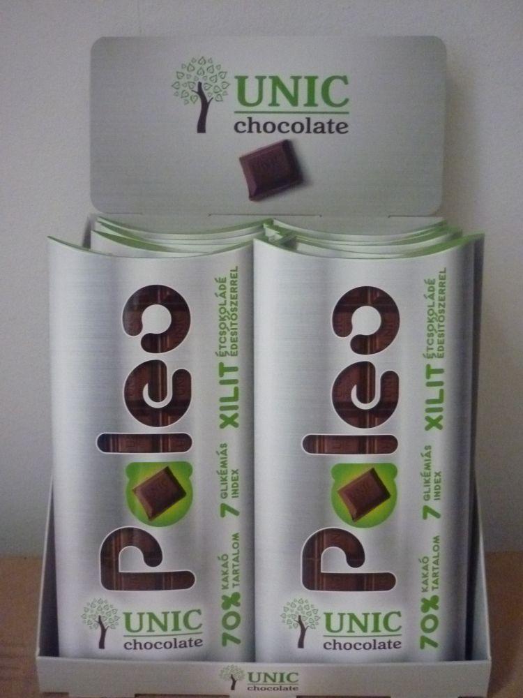 Paleo étcsokoládé xilittel 80g UNIC