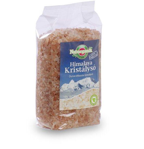 Himalaya só, durva rózsaszín 1kg Naturmind