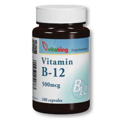 B12 vitamin kobalamin 500mcg (100) VK