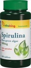 Spirulina alga 500mg (200) tabletta VK