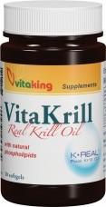 Vitakrill olaj 495mg (30) lágykapszula VK
