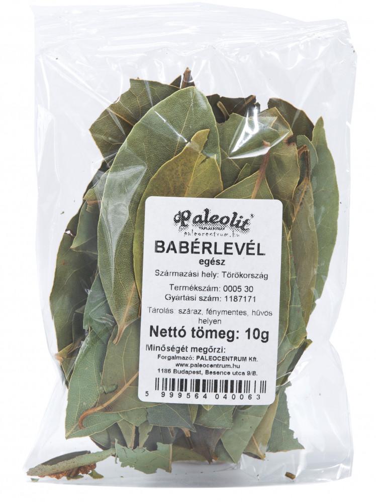 Babérlevél egész 10g Paleolit