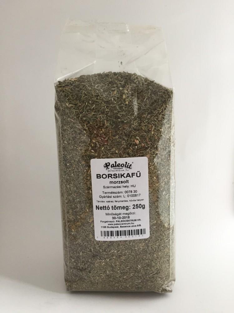 Borsikafű morzsolt 250g Paleolit