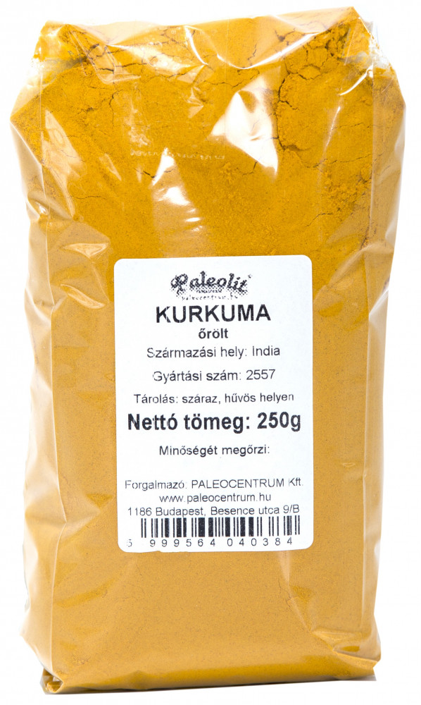 Kurkuma őrölt 250g Paleolit