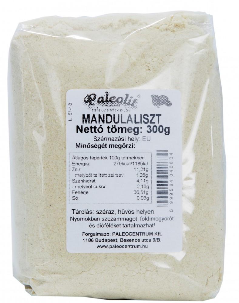 Mandulaliszt BOPP 300g Paleolit
