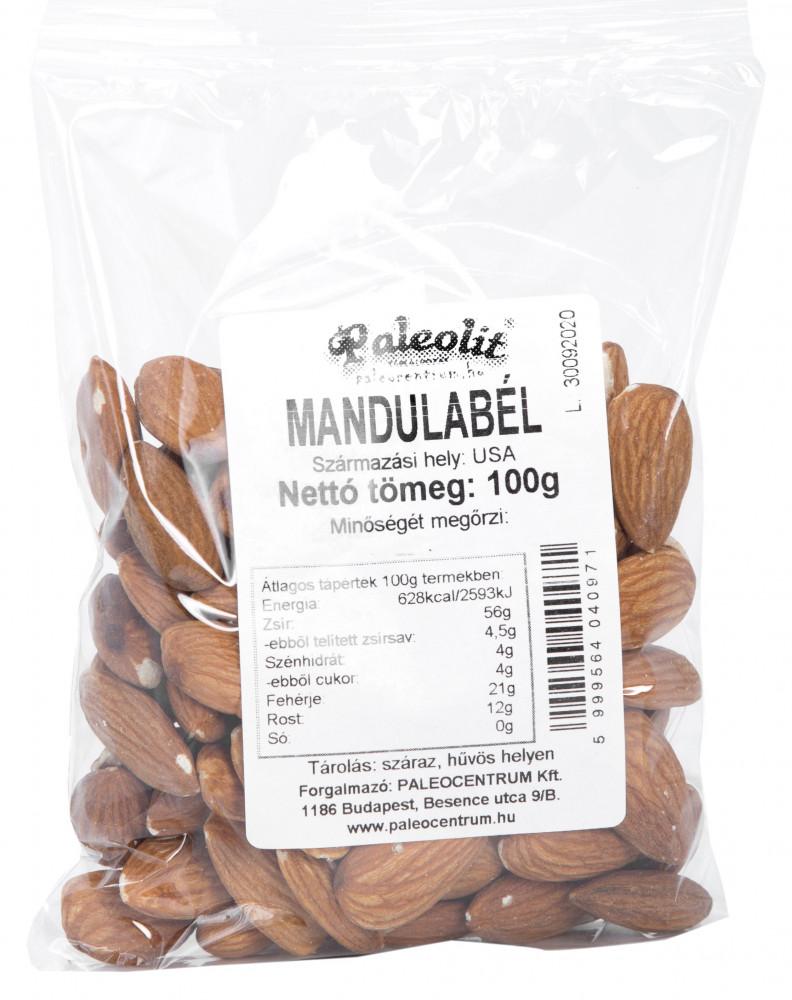 Mandulabél héjas 100g Paleolit