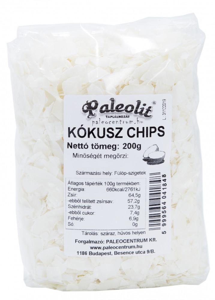 Kókusz chips 200g Paleolit