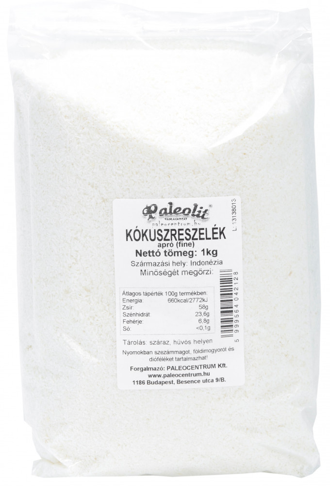 Kókuszreszelék apró (fine) 1kg Paleolit
