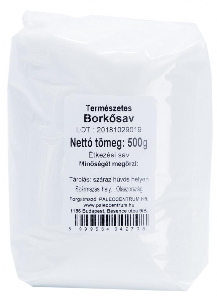 Borkősav (természetes) 500g