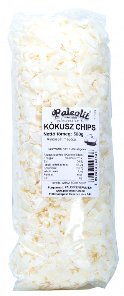 Kókusz chips 500g Paleolit