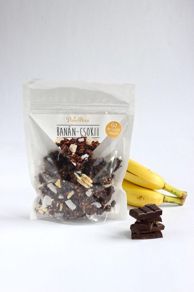 Banános-Csokis granola 150g PaleoNasi