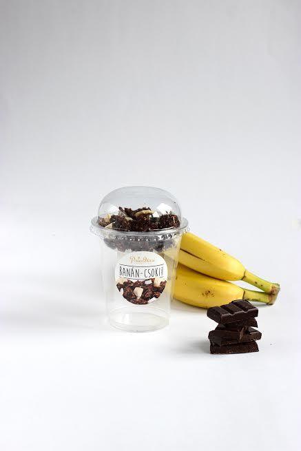 Banános-Csokis granola poharas 45g PaleoNasi