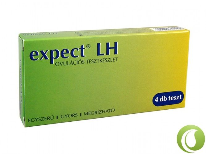 Termékenységi/ovulációs tesztkészlet expect LH (4 db)