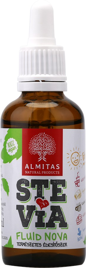 Stevia Fluid Nova 50ml Almitas