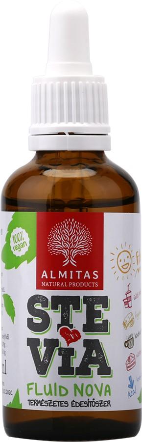 Stevia Fluid Nova 50ml Almitas