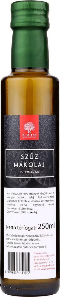Mákolaj 250ml Almitas