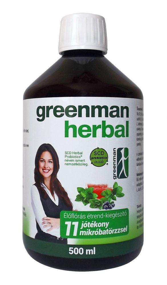 Herbal Probiotics 500ml Greenman