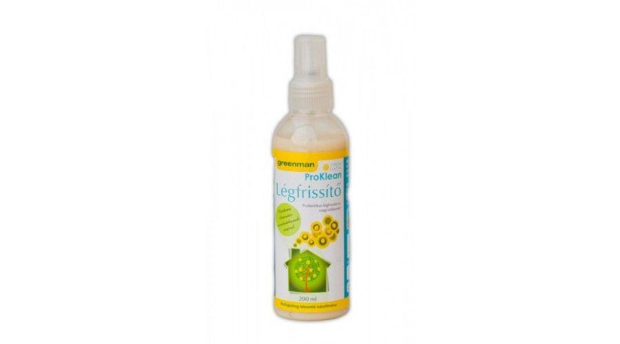 Légfrissítő citrom illattal 200ml  Greenman